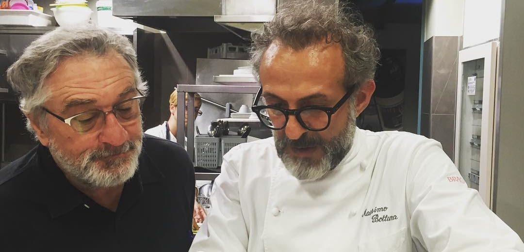 Bottura en De Niro tegen voedselverspilling