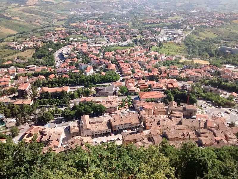 Borgo Maggiore in San Marino