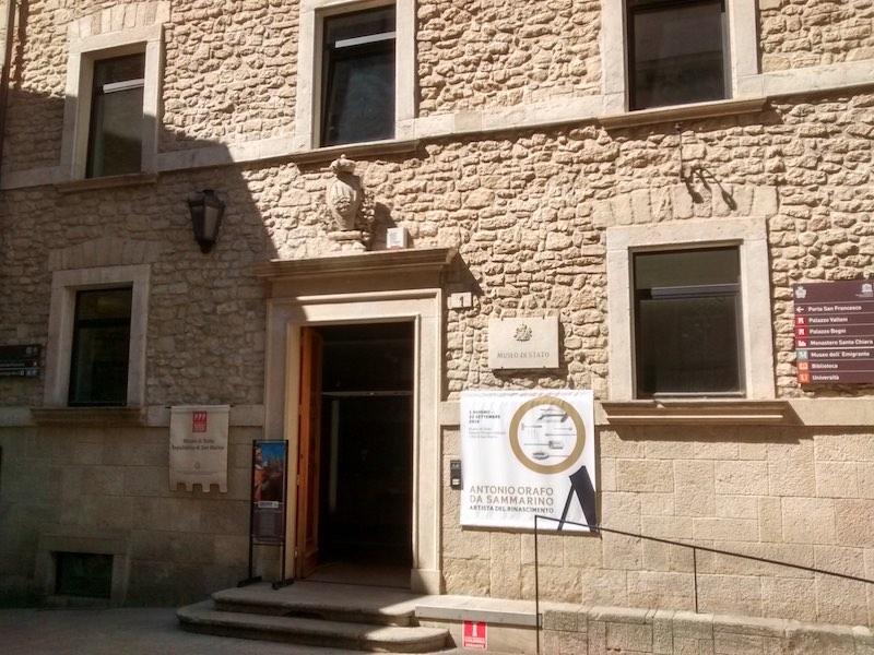 Het Museo di Stato - een van de bezienswaardigheden van San Marino