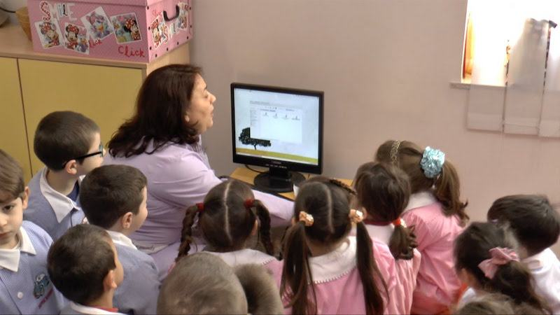 Naar school in Italië