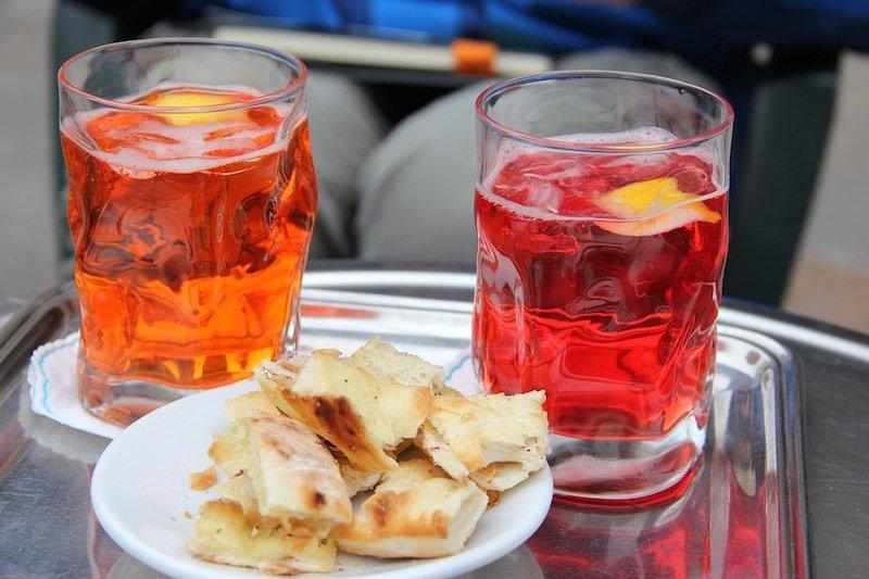 Italiaanse aperitiefjes - Spritz