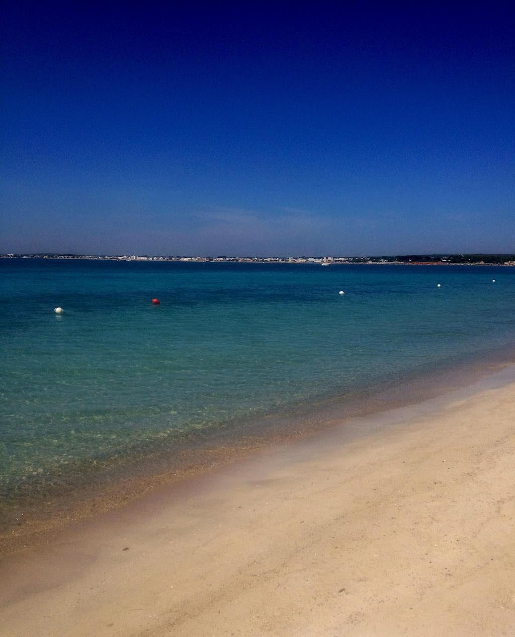 Het strand bij Lecce