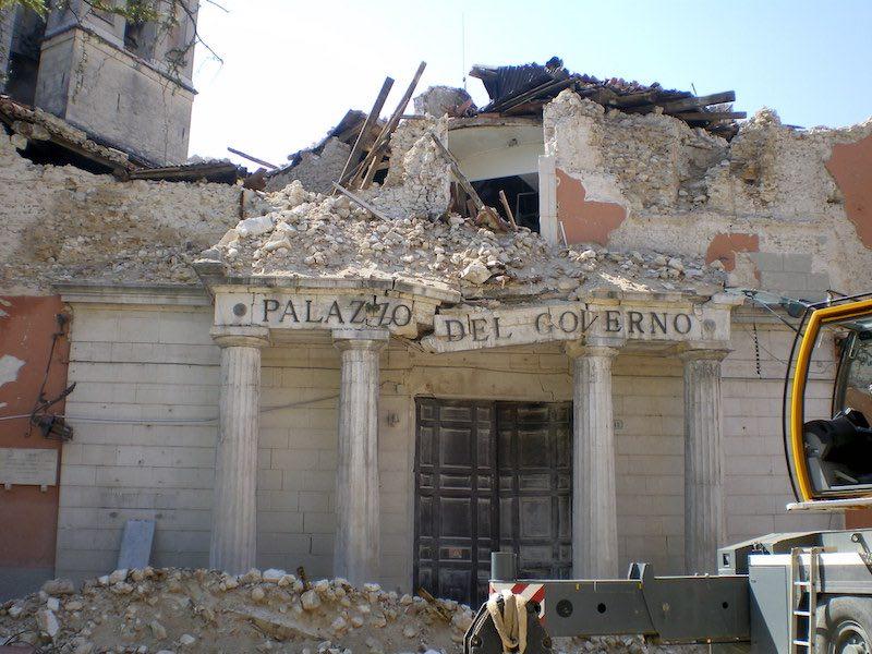 aardbevingen L'Aquila 2009