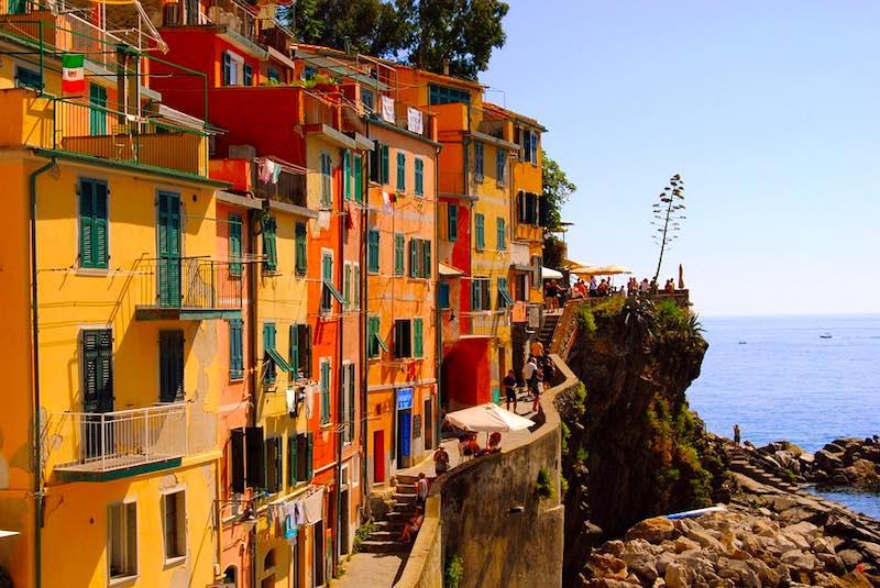 het Italiegevoel - kleurrijke huizen