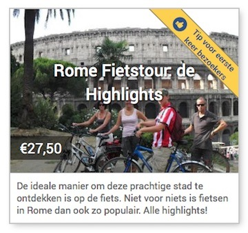 rome fietstour de highlights
