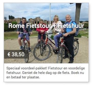 rome fietstour en fietshuur