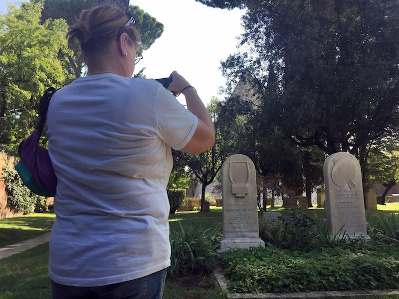 Begraafplaats voor buitenlanders Rome