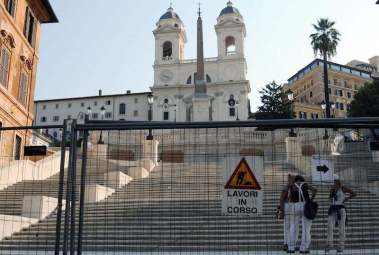 Hekken om de Spaanse Trappen Foto Rop Zoutberg voor DITISITALIE
