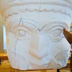 reconstructie verwoeste tempels in Rome