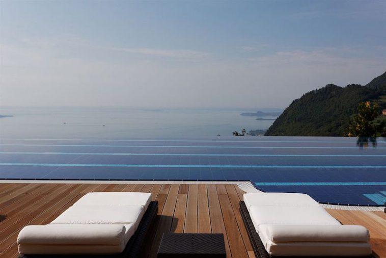 hotelzwembad Lefay Resort en Spa Gargnano