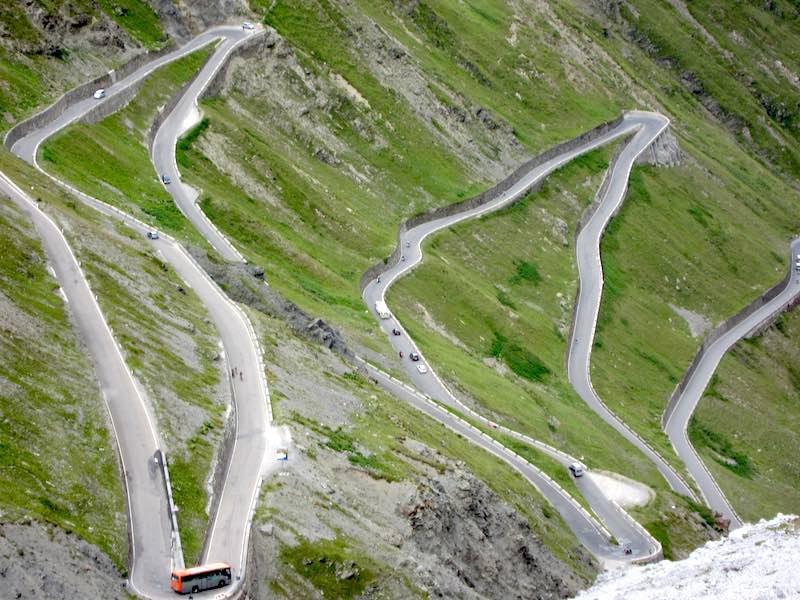 De gevaarlijkste wegen van Italië