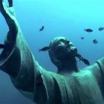Onderwaterschatten Italië - Cristo degli Abissi
