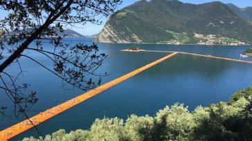 De Passarella di Christo aan het Iseomeer