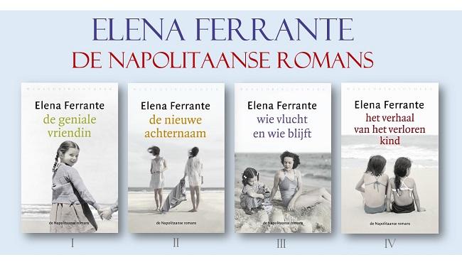 Elena Ferrante de Napolitaanse romans