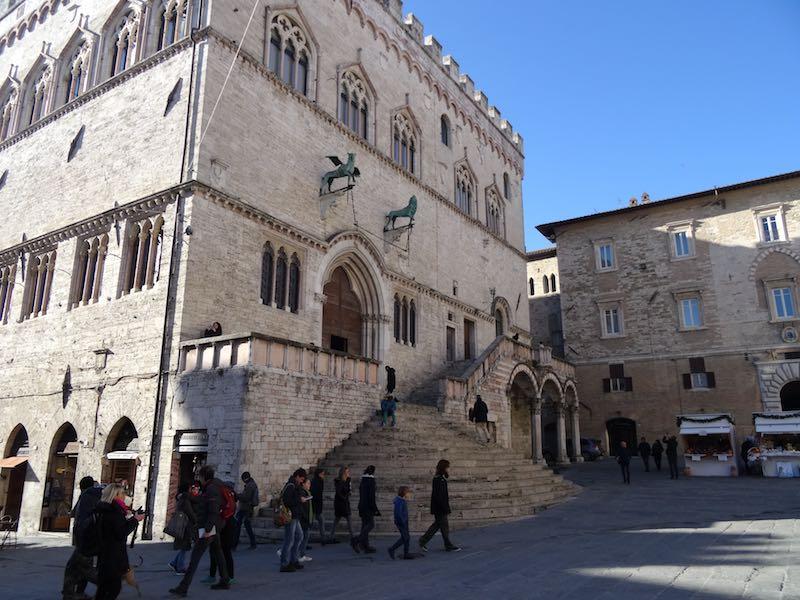 Perugia - de mooiste plekken in Umbrië