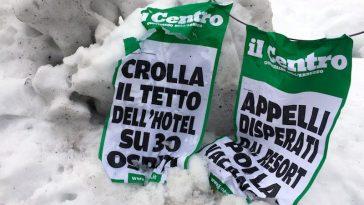 Hotel met dertig gasten ingestort na lawine Italië