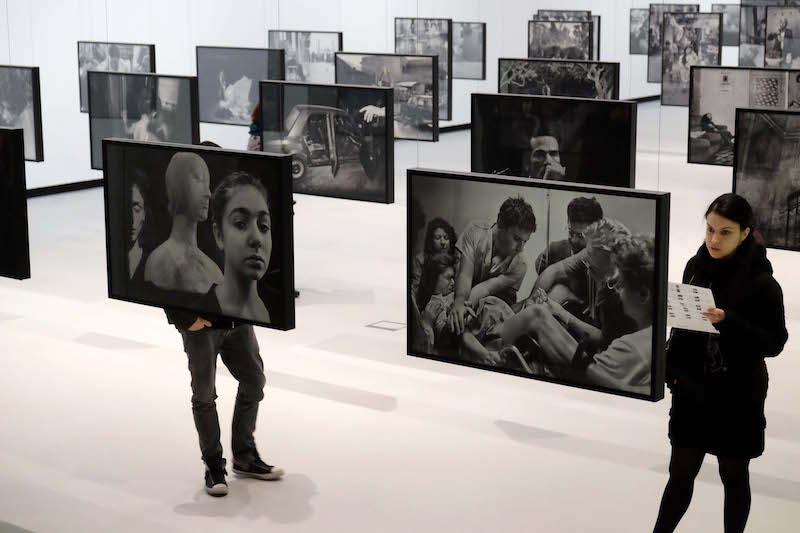Tentoonstelling Letizia Battaglia in Maxxi Rome Foto Rop Zoutberg