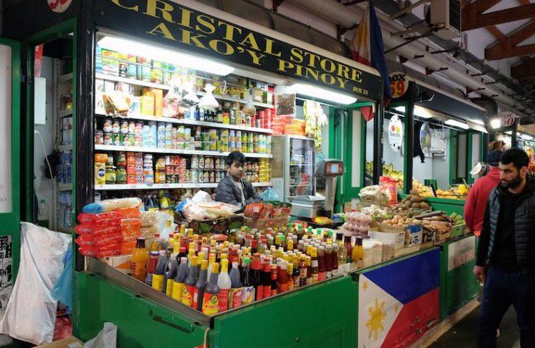Internationale markt Rome