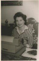 Luciana Zanuccoli eind jaren vijftig in Den Haag foto gemeentearchief Den Haag