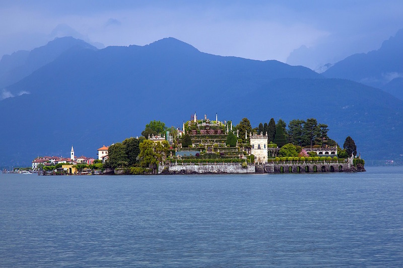 Isolabella in het Lago Maggiore