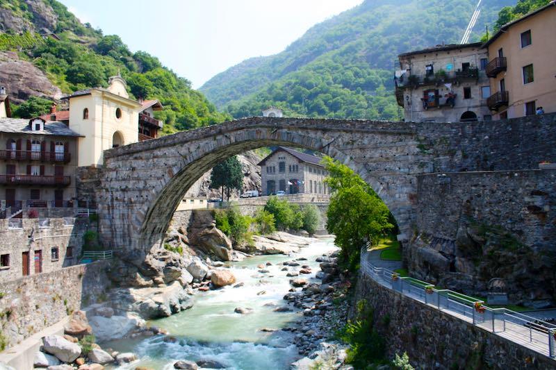 De schoonheid van Valle d'Aosta