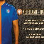 Nederland-Italië Amsterdam Arena winactie