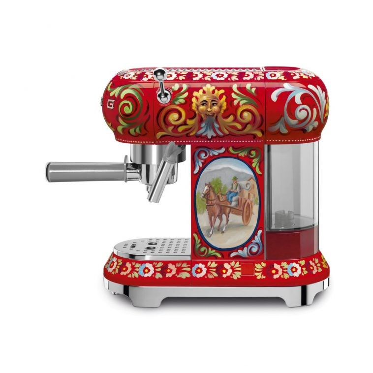 espressoapparaat smeg dolce gabbana