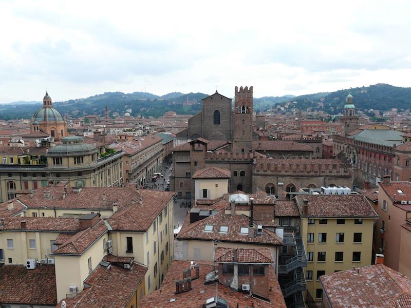 1. Uitzicht vanaf de toren van de Cattedrale Metropolitana di San Pietro