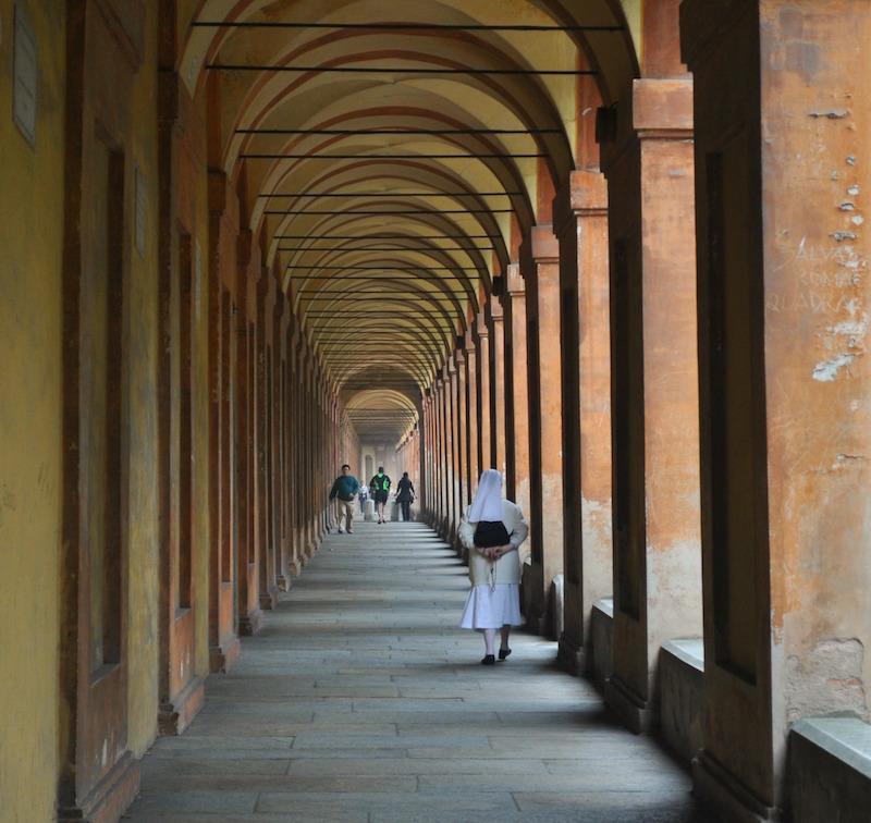 De langste portico ter wereld leidt naar San Luca