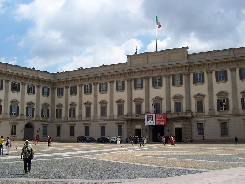 Het Palazzo Reale in Milaan