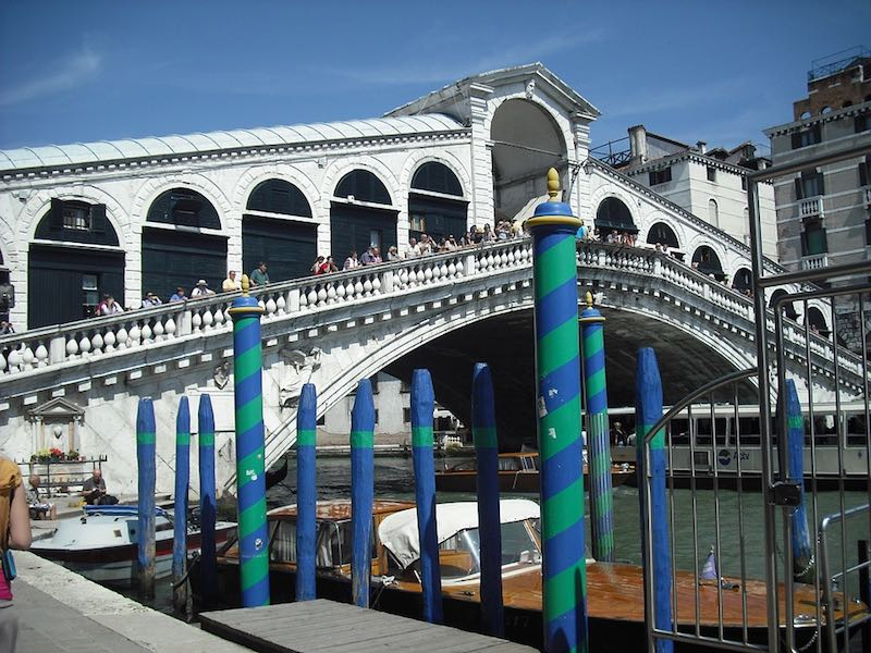 Rialto-brug Venetië