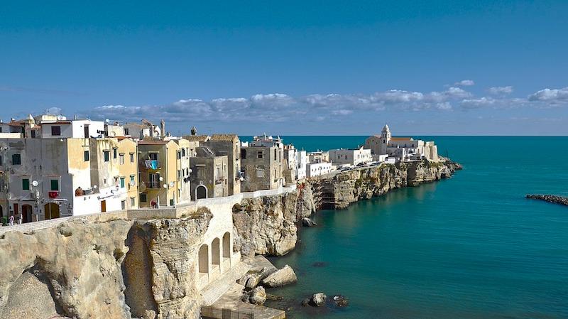Waar ligt Gargano in Apulië?