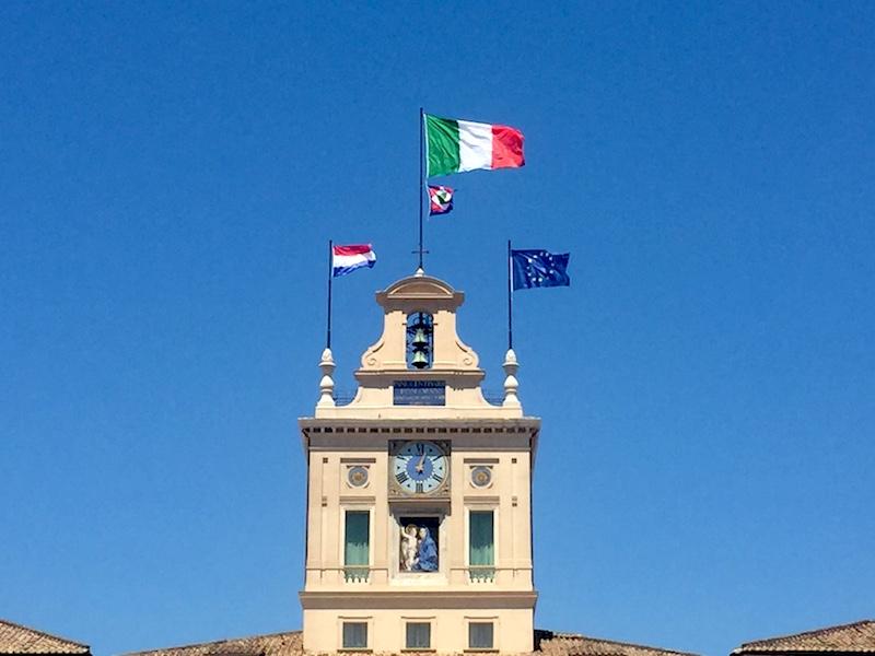 staatsbezoek Italië
