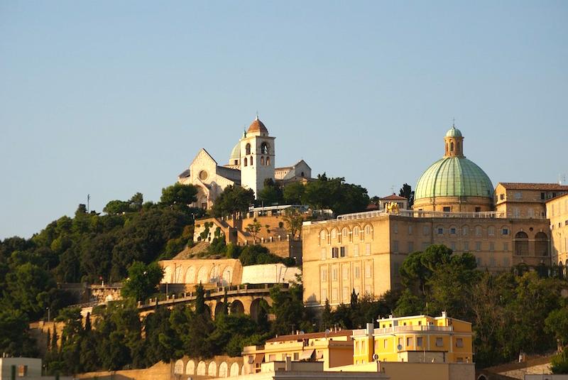 Ancona, hoofdstad van De Marken