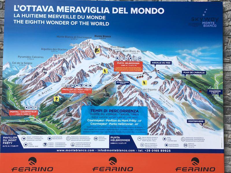 De Mont Blanc op met de Skyway
