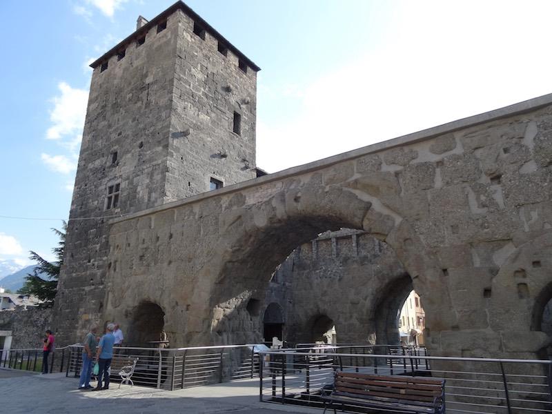 De Porta Pretoria van Aosta