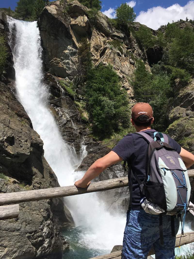 De watervallen van Lillaz