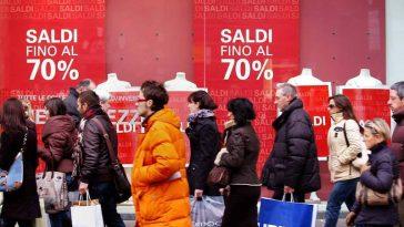 uitverkoop in Italië