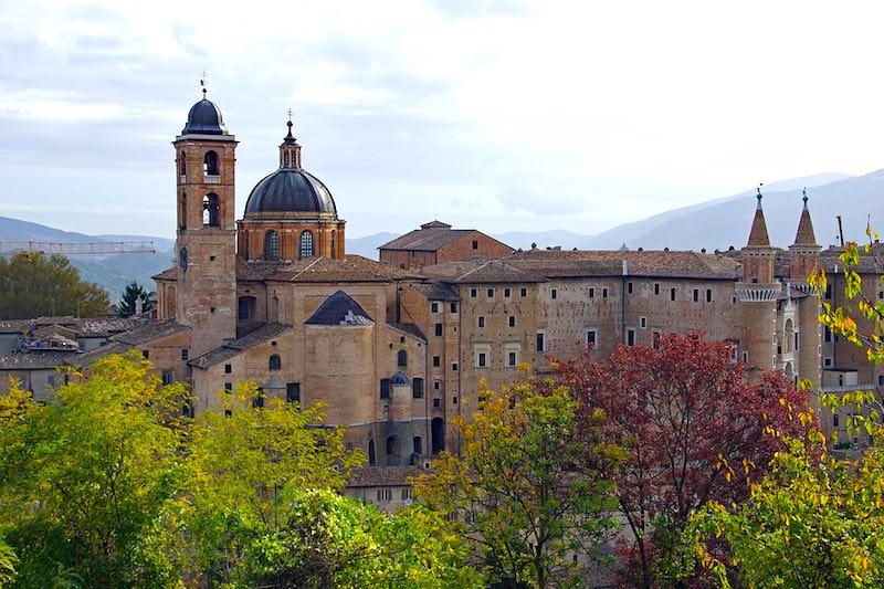 Universiteitsstad Urbino in De Marken