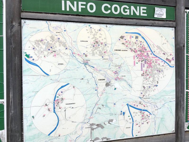Wandelen in het Aostadal rond het dorpje Cogne