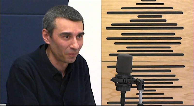 De schrijver: Giorgio Falco