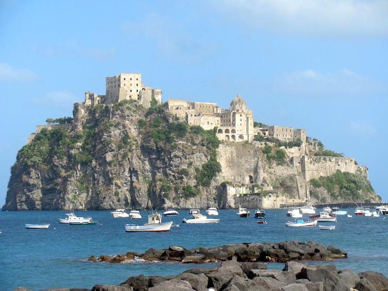 Nederlandse toeristen gaan naar Ischia