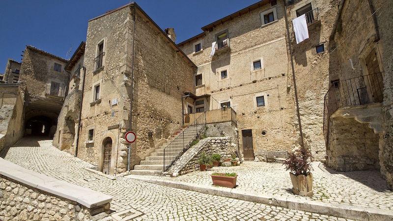 Italiaanse dorpen - Santo Stefano di Sessanio