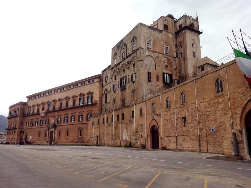 Palazzo dei Normanni in Palermo (foto: Wikimedia)