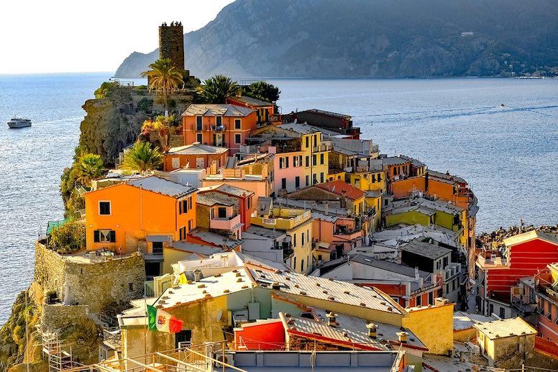 Vernazza, een van de mooiste dorpen van heel Italië