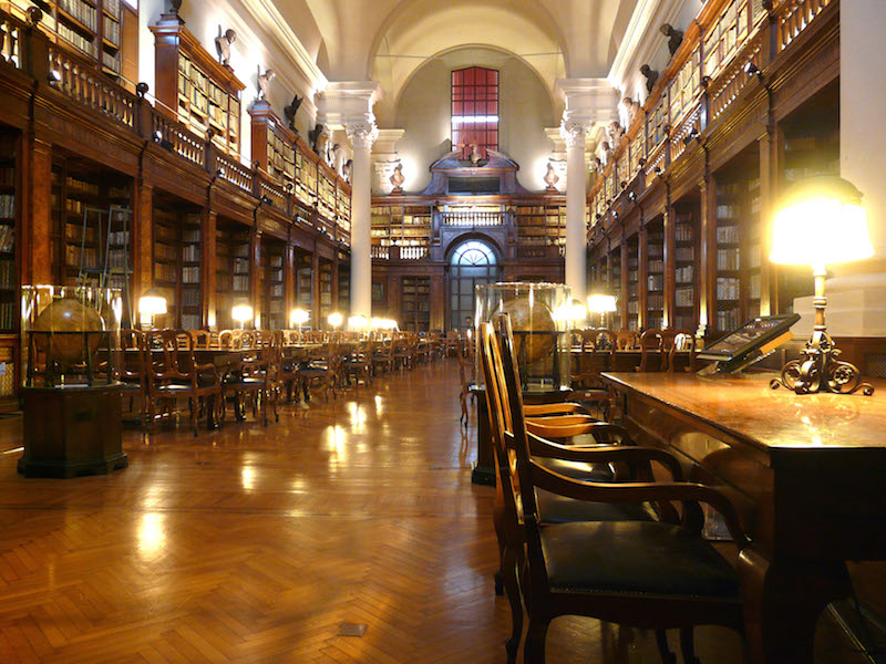 Biblioteca Universitaria is al eeuwen de centrale bibliotheek van de universiteit