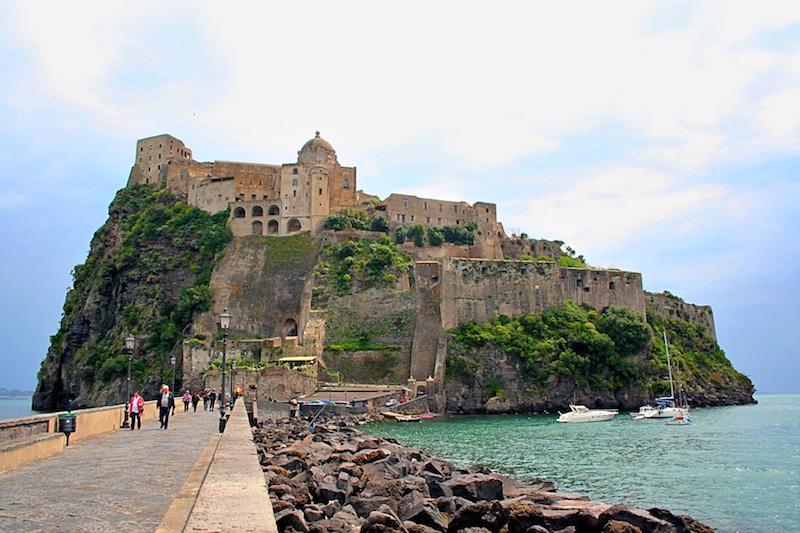 Castello Aragonese op eiland Ischia