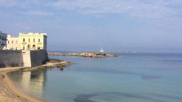 De kust bij Gallipoli