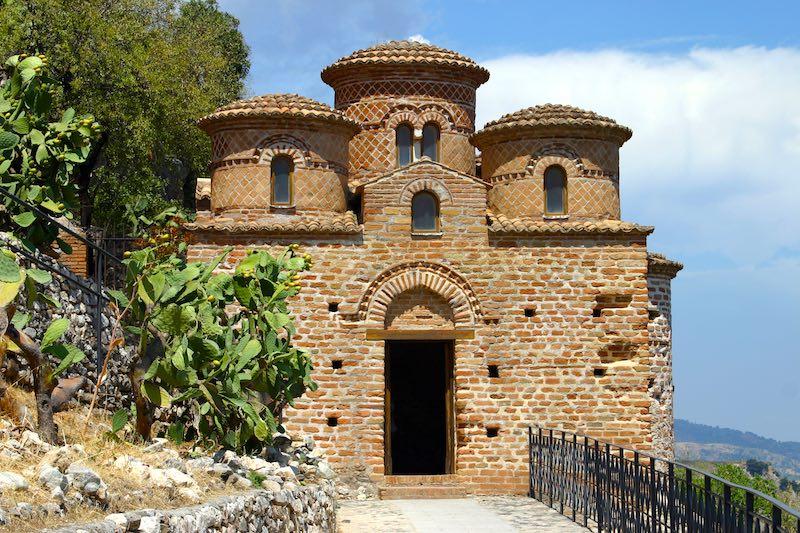 Magisch: het kerkje La Cattolica in Stilo