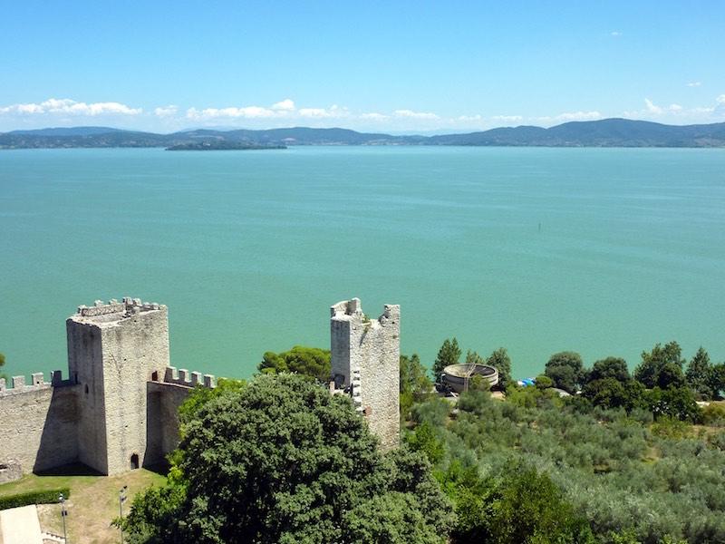 Castiglione del Lago bij het Trasimeense Meer